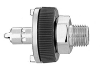 "M WAGD EVAC Ohmeda Quick Connect  to 1/8"" M Medical Gas Fitting, Medical Gas Adapter, ohmeda quick connect, ohio quick connect, Waste Anesthetic Gas Disposal, Waste Gas Evacuation, quick connect, quick-connect, diamond quick connect, ohmeda male to 1/8 Male"