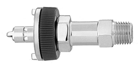 "M WAGD EVAC Ohmeda Quick Connect  to 1/4"" M Medical Gas Fitting, Medical Gas Adapter, ohmeda quick connect, ohio quick connect, Waste Anesthetic Gas Disposal, Waste Gas Evacuation, quick connect, quick-connect, diamond quick connect, ohmeda male to 1/4 Male"