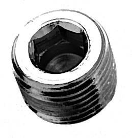 1 4 Quot Npt Head Countersunk Pipe Plugs