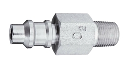 "M WAGD EVAC Puritan Quick Connect  to 1/8"" M Medical Gas Fitting, Medical Gas Adapter, puritan quick connect, puritan Bennett quick connect, Waste Anesthetic Gas Disposal, Waste Gas Evacuation, WAGD quick connect, WAGD quick-connect, puritan male to 1/8 male"