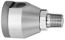 "F WAGD EVAC Puritan Quick Connect  to 1/4"" M Medical Gas Fitting, Medical Gas Adapter, puritan quick connect, puritan Bennett quick connect, Waste Anesthetic Gas Disposal, Waste Gas Evacuation, WAGD quick connect, WAGD quick-connect, puritan female to 1/4 male"