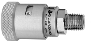 "F N2O Schrader Quick Connect to 1/4"" M Medical Gas Fitting, Medical Gas Adapter, schrader quick connect, N2O, Nitrous Oxide, Nitrous Oxide quick connect, Nitrous Oxide quick-connect, schrader female to 1/4"