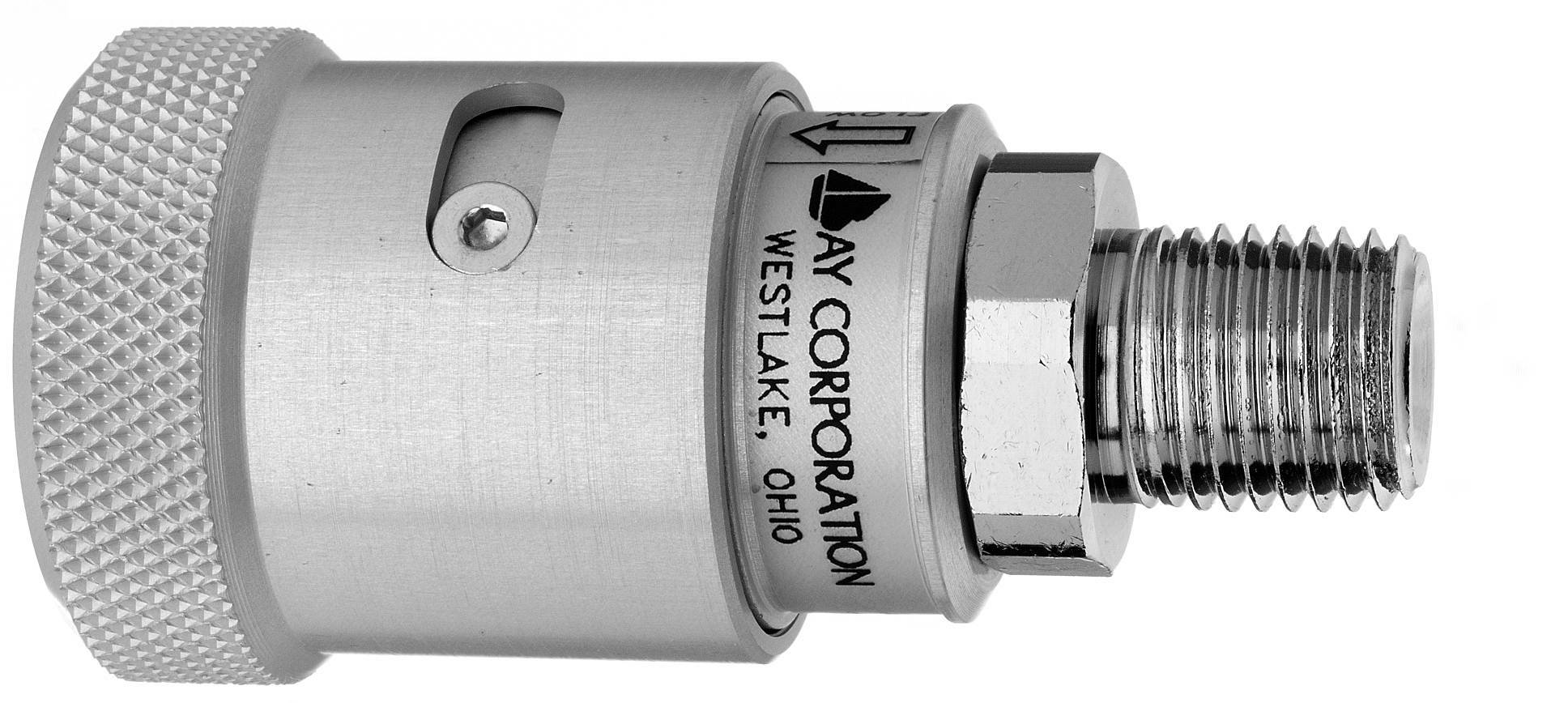 Schrader style quick connect female coupler quot npt