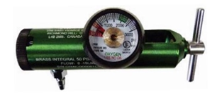 Amvex Click Style O2 Regulator with Flowmeter